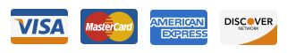 image of credit card logos to signify we take credit cards