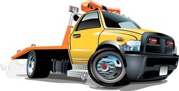 illustration of a tow truck